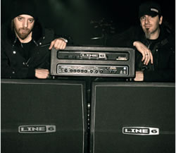 Lacuna Coil uses Line 6 amplifiers, courtesy line6.com