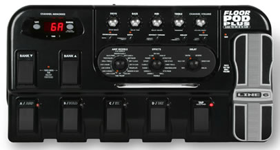 Line6 Floor POD Plus Multi-effects Processor, courtesy Line6.com