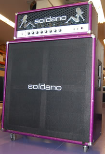 Mike Soldano's personal SLO-100 and 4x12 cabinet, courtesy Soldano.com