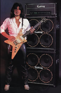 Craig Chaquico with Carvin amplifier and guitar, courtesy of CarvinMuseum.com