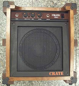 The original Crate CR-1 amplifier