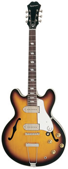 "The Epiphone John Lennon ""1965"" Casino, courtesy Gibson.com"