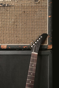 Guitar and Amp Cabinet Stack
