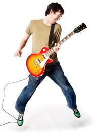The Guitar Hero jump!