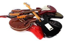 Guitar pile
