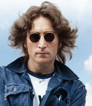 John Lennon, courtesy Bob Gruen ©