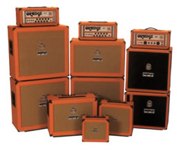 Orange Guitar Amps - stacks and combos