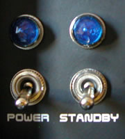 Power and Standby switches