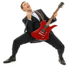Rock on, dude!