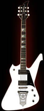 The Washburn PS 2000 10th Anniversary Paul Stanley Signature model guitar, courtesy Washburn.com
