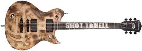 Washburn Shot To Hell Custom Guitar, courtesy Washburn.com
