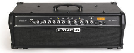 The Line 6 Spider IV HD150 Guitar Amplifier Head